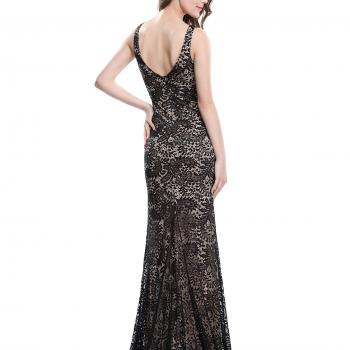 High Slit Evening Dress
